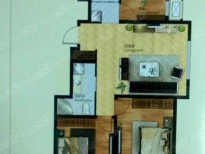 水悦城3室2厅2卫户型