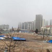 未取得许可证施工与居民起争议 中粮大悦城被迫停工