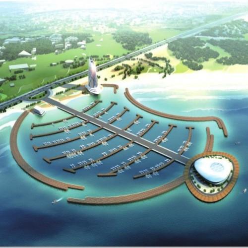 黄岛区 灵山湾青岛国际游艇会展中心