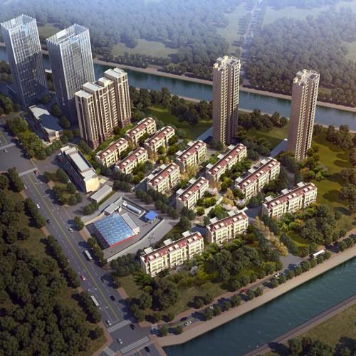山水丽景项目规划及建筑方案批前公告 有多层高层商业网点
