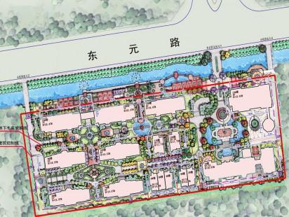 天一镜台山示范区平面图
