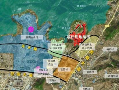 海信北涧山居区位图