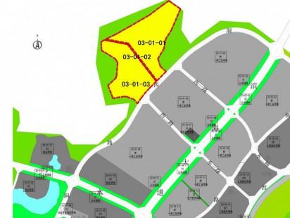 海信北涧山居土地利用规划图