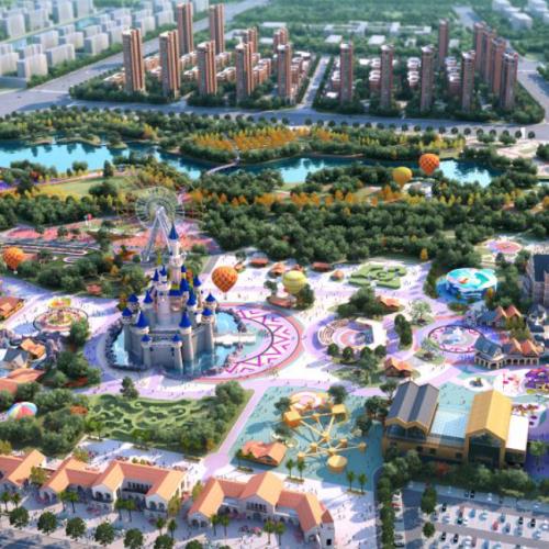 山东首家童话故事主题项目平度开工 2020年竣工开园