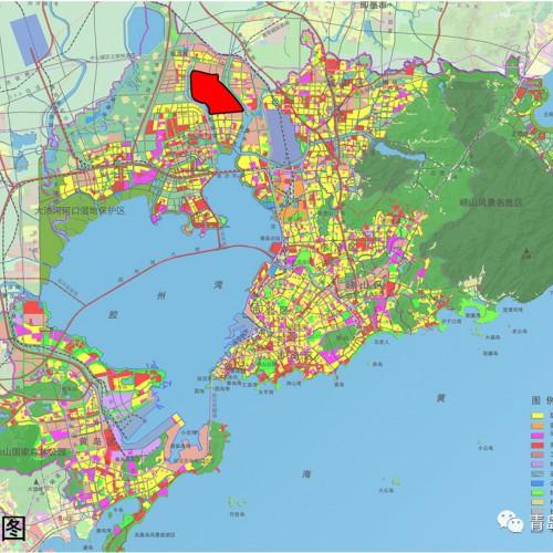 青岛高新区各片区控制性详规出炉 规划多所中小学幼儿园