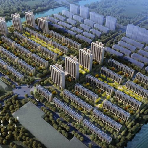 龙湖张家楼双河路项目