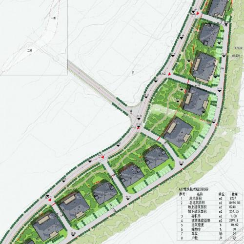 藏马山养生庄园一期规划出炉 两地块分别为住宅和办公