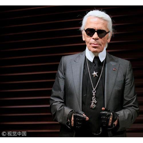 Chanel香奈儿艺术总监老佛爷去世 享年85岁