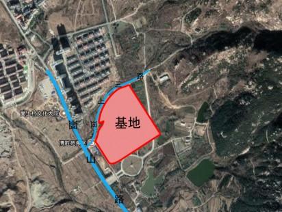 青岛东方文化小镇区位图