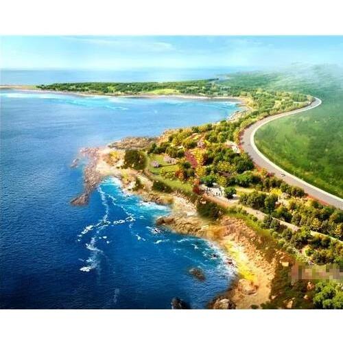 西海岸新区海岸线虽长 最美还是薛家岛山里