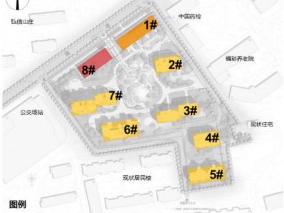隆德花园功能分布示意图