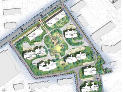 隆德花园平面图