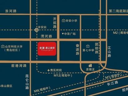 龙湖春江彼岸区位图