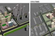 市北区昌乐路3号沾化路2号地块规划变更 配建6层古玩城