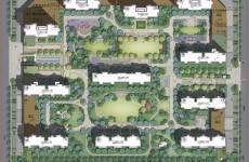 胶州新城海韵名邦规划变更 景观设计变简单
