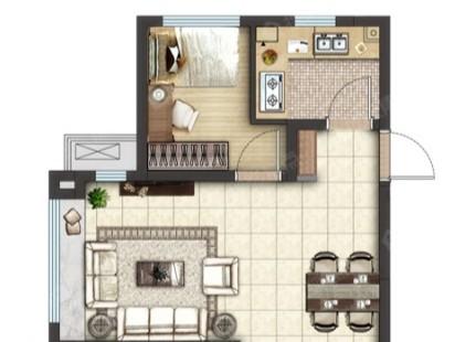 越秀星汇城3室85户型