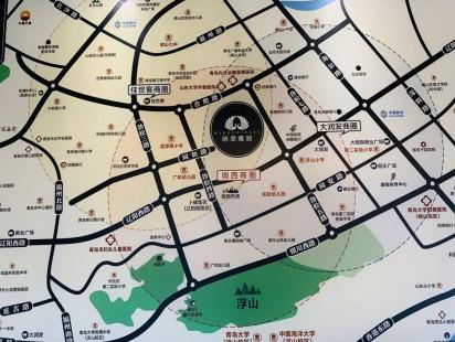明翠雅居区位图