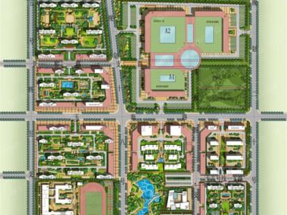 众安青岛新城市规划图