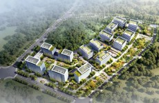 青岛国际院士港研究院南延项目进入基坑支护施工阶段