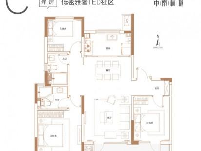 中南林樾C户型