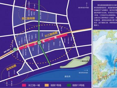 长江地一城区位图