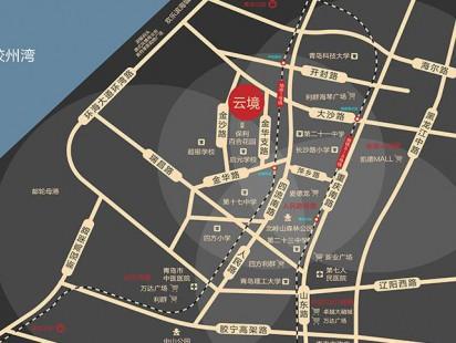 碧桂园云境区位图