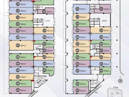 资源博雅广场1#楼1-2层临街商业户型