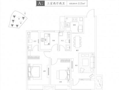 青特星城户型图 (3)