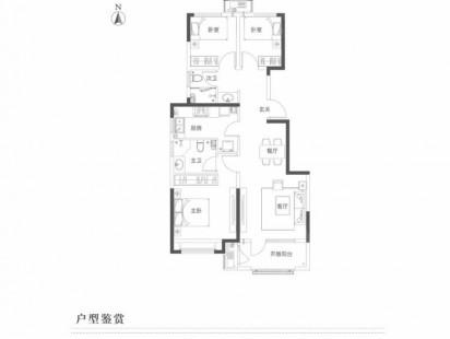鑫江水青花都户型图 (4)