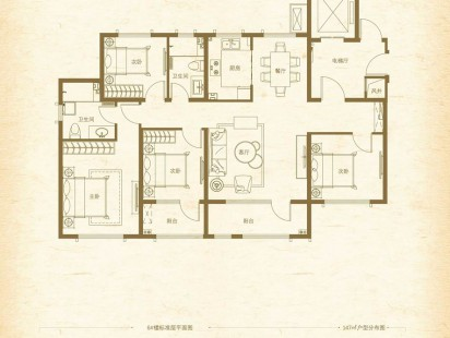 青岛印象品户型图 (5)