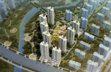 城阳正阳里澜庭规划亮相 拟建9栋高层住宅