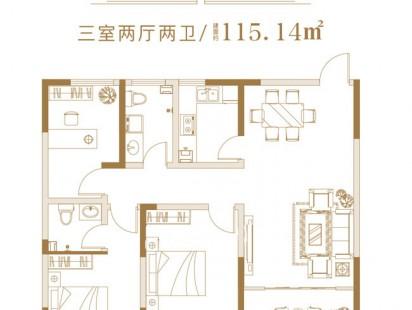 文定江山C3户型