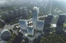 中建八局中标西海岸250米第一高楼青岛蓝湾中心