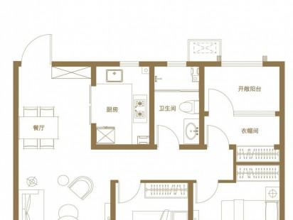 青岛印象滟E3户型