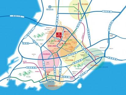 青城辰章区位图