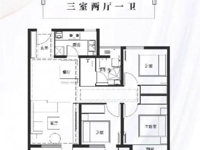 中国铁建海语城89户型