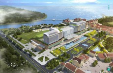 同济大学附属东方医院胶州医院已开始精装 明年6月开诊