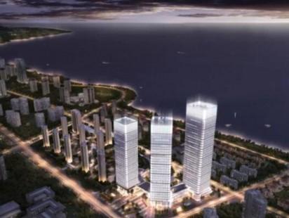 海信国际中心鸟瞰图