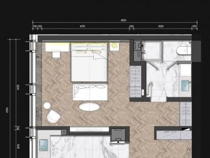 海信国际中心A5户型