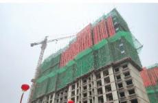 大荒庄安置区建设进展顺利 4栋楼主体封顶