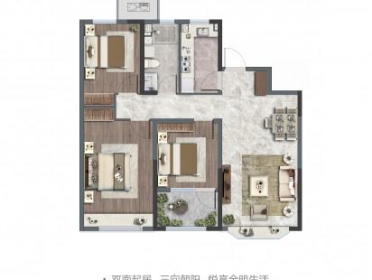 凤凰岛壹號户型图 (3)