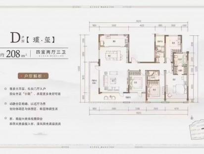 康大玺樾府户型图 (4)