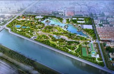 西海岸新区双珠公园提升工程将启动 效果图曝光