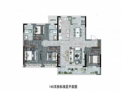 龙湖景粼玖序户型图 (3)